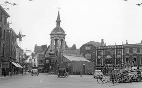 Grimsby Market Place needed repair