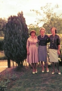 Nancy, Eileen and Peggy