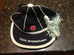 John's England Youth Cap