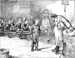 Horror as Oliver Twist asks for more...