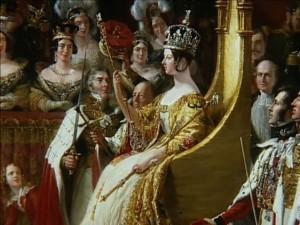 Queen Victoria's Coronation in 1837.