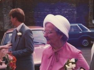 May at the wedding of Sally Riding and Mel Northfield.